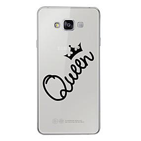 voordelige Galaxy A5(2016) Hoesjes / covers-hoesje Voor Samsung Galaxy A3 (2017) / A5 (2017) / A7 (2017) Patroon Achterkant Woord / tekst Zacht TPU