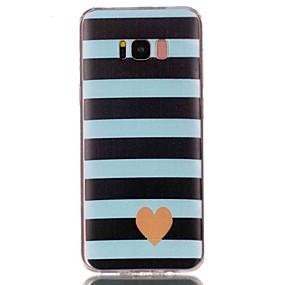 voordelige Galaxy S7 Edge Hoesjes / covers-hoesje Voor Samsung Galaxy S8 Plus / S8 / S7 edge Patroon Achterkant Hart Zacht TPU