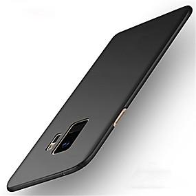 voordelige Galaxy S7 Edge Hoesjes / covers-hoesje Voor Samsung Galaxy S9 / S9 Plus / S8 Plus Ultradun Achterkant Effen Hard PC