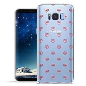 voordelige Galaxy S6 Edge Plus Hoesjes / covers-hoesje Voor Samsung Galaxy S8 Plus / S8 / S7 edge Patroon Achterkant Tegel / Hart Zacht TPU