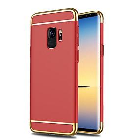 voordelige Galaxy S6 Edge Plus Hoesjes / covers-hoesje Voor Samsung Galaxy S9 / S9 Plus / S8 Plus Schokbestendig / Ultradun Volledig hoesje Effen Hard Muovi