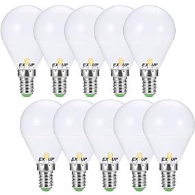 olcso Vásároljon többet, és spóroljon-EXUP® 10pcs 7 W 680 lm E14 / E26 / E27 LED gömbbúrás izzók G45 6 LED gyöngyök SMD 2835 Dekoratív Meleg fehér / Hideg fehér 220-240 V / 110-130 V / 10 db. / RoHs / CCC / ERP / LVD