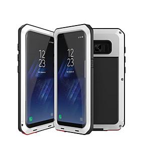 voordelige Galaxy S6 Edge Plus Hoesjes / covers-hoesje Voor Samsung Galaxy S9 / S9 Plus / S8 Plus Waterbestendig / Schokbestendig / Schild Volledig hoesje Schild Hard Metaal