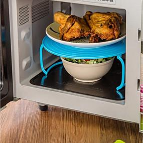 رخيصةأون أدوات & أجهزة المطبخ-البلاستيك الفئة محمول عازل للحرارة لفرن الميكروويف أدوات أدوات المطبخ متعددة الوظائف لأواني الطبخ 1PC