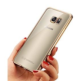 voordelige Galaxy A8 Hoesjes / covers-hoesje Voor Samsung Galaxy A3 (2017) / A5 (2017) / A7 (2017) Beplating / Ultradun / transparante Body Achterkant Effen Zacht TPU