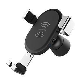 voordelige Autoladers-draadloze auto-oplader zwaartekracht koppeling air vent telefoon houder qc 3.0 snellader clip outlet (sigarettenaansteker niet inbegrepen)