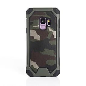 voordelige Galaxy S7 Hoesjes / covers-hoesje Voor Samsung Galaxy S9 / S9 Plus / S8 Plus Schokbestendig Achterkant Camouflage Kleur Zacht Siliconen