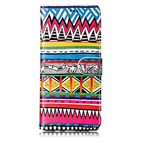 Недорогие Чехлы и кейсы для Galaxy Note 8-Кейс для Назначение SSamsung Galaxy Note 8 Бумажник для карт / со стендом / Флип Чехол Мультипликация / Черепа / Цветы Твердый Кожа PU