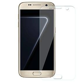 Недорогие Чехлы и кейсы для Galaxy S-Samsung GalaxyScreen ProtectorS7 edge HD Защитная пленка для экрана 1 ед. TPG Hydrogel