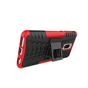 Недорогие Чехлы и кейсы для Huawei Mate-Кейс для Назначение Huawei Mate 10 lite / Huawei Mate 8 / Mate 9 Защита от удара / со стендом / броня Кейс на заднюю панель Плитка / броня Твердый ПК