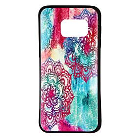 voordelige Galaxy S7 Hoesjes / covers-hoesje Voor Samsung Galaxy S8 / S7 edge / S7 Patroon Achterkant Bloem / Kleurgradatie Zacht TPU