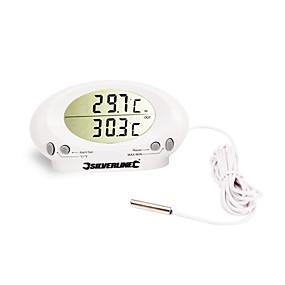 olcso Thermometers-calibeur it-201a beltéri / kültéri digitális lcd kijelző környezet hőmérő szalagszondával