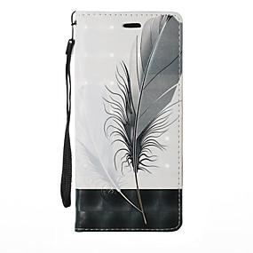 Недорогие Чехлы и кейсы для Galaxy Note 8-Кейс для Назначение SSamsung Galaxy Note 8 / Note 5 / Note 4 Бумажник для карт / со стендом / Флип Чехол Растения / Мультипликация / одуванчик Твердый Кожа PU