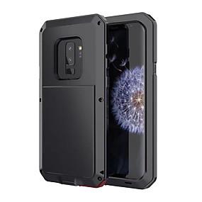 olcso Galaxy S9 tokok-Case Kompatibilitás Samsung Galaxy S9 Ütésálló / Vízálló Héjtok Páncél Kemény Fém