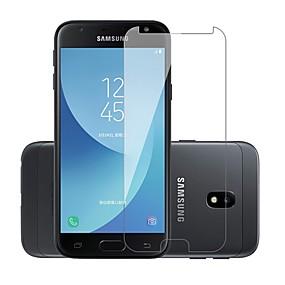 Недорогие Защитные пленки для Samsung-Samsung GalaxyScreen ProtectorJ3 Prime Уровень защиты 9H Защитная пленка для экрана 1 ед. Закаленное стекло