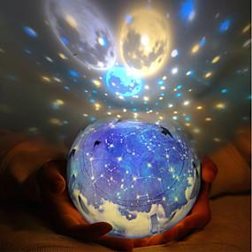 povoljno Igračke i razonoda-LT.Squishies LED osvijetljenje Lampa projektor Romantika Zvjezdano nebo Sjajno Grade ABS plastike Dječji Dječaci Djevojčice Igračke za kućne ljubimce Poklon