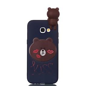 voordelige Galaxy A5(2016) Hoesjes / covers-hoesje Voor Samsung Galaxy A3 (2017) / A5 (2017) / A5(2016) Patroon / DHZ Achterkant Cartoon Zacht TPU