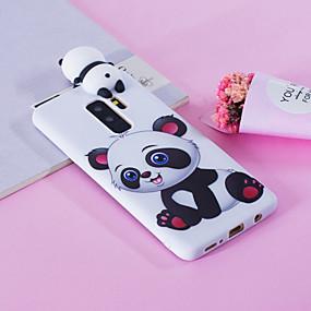 voordelige Galaxy S7 Edge Hoesjes / covers-hoesje Voor Samsung Galaxy S9 / S9 Plus / S8 Plus Patroon Achterkant Panda Zacht TPU
