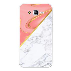 voordelige Galaxy J7(2017) Hoesjes / covers-hoesje Voor Samsung Galaxy J7 (2017) / J7 (2016) / J7 Patroon Achterkant Marmer Zacht TPU
