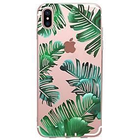 voordelige iPhone 11 Pro Max hoesjes-hoesje Voor Apple iPhone 11 / iPhone 11 Pro / iPhone 11 Pro Max Patroon Achterkant Planten / Boom Zacht TPU