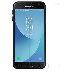 Недорогие Защитные пленки для Samsung-Samsung GalaxyScreen ProtectorJ3 (2017) Уровень защиты 9H Защитная пленка для экрана 1 ед. Закаленное стекло