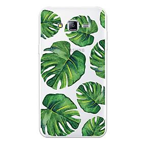 voordelige Galaxy J3 Hoesjes / covers-hoesje Voor Samsung Galaxy J7 (2017) / J7 (2016) / J7 Patroon Achterkant Planten / Cartoon Zacht TPU