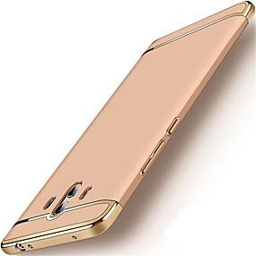 Недорогие Чехлы и кейсы для Huawei Mate-Кейс для Назначение Huawei Mate 10 / Mate 10 pro / Mate 10 lite Защита от удара / Покрытие Кейс на заднюю панель Однотонный Твердый ПК / Mate 9 Pro