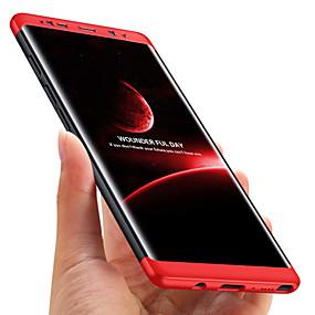 Недорогие Чехлы и кейсы для Galaxy Note 8-Кейс для Назначение SSamsung Galaxy Note 8 Защита от удара / Матовое Кейс на заднюю панель Однотонный Твердый ПК
