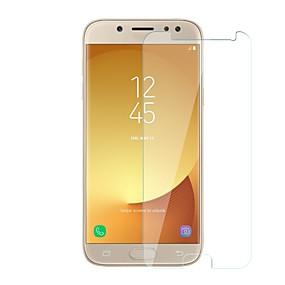 Недорогие Защитные пленки для Samsung-Samsung GalaxyScreen ProtectorJ5 (2017) Уровень защиты 9H Защитная пленка для экрана 1 ед. Закаленное стекло