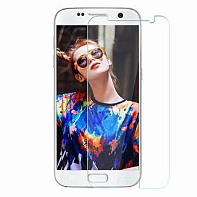 Недорогие Чехлы и кейсы для Galaxy S-Samsung GalaxyScreen ProtectorS7 Уровень защиты 9H Защитная пленка для экрана 1 ед. Закаленное стекло