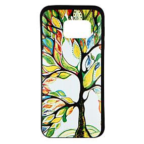 voordelige Galaxy S7 Hoesjes / covers-hoesje Voor Samsung Galaxy S8 / S7 edge / S7 Patroon Achterkant Boom Zacht TPU