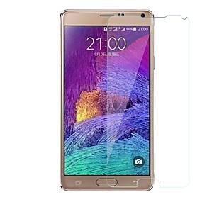 Недорогие Чехлы и кейсы для Galaxy Note-Samsung GalaxyScreen ProtectorNote 4 Уровень защиты 9H Защитная пленка для экрана 1 ед. Закаленное стекло