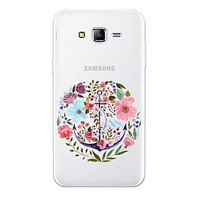 voordelige Galaxy J7 Hoesjes / covers-hoesje Voor Samsung Galaxy J7 (2017) / J7 (2016) / J7 Patroon Achterkant Cartoon / Bloem Zacht TPU
