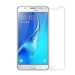 Недорогие Защитные пленки для Samsung-Samsung GalaxyScreen ProtectorJ5 (2016) Уровень защиты 9H Защитная пленка для экрана 1 ед. Закаленное стекло