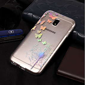 voordelige Galaxy J5(2017) Hoesjes / covers-hoesje Voor Samsung Galaxy J7 (2017) / J7 (2016) / J7 IMD / Patroon Achterkant Paardebloem Zacht TPU