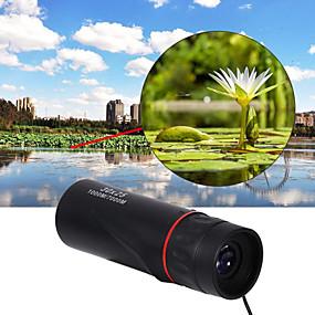 olcso Távcsövek-10 X 25 mm Félszemű Objektívek Hordozható Night vision Više premaza BAK4 Kempingezés és túrázás Vadászat Trčanje u prirodi Night vision Műanyag ház