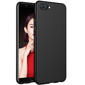 Недорогие Чехлы и кейсы для Huawei Honor-Кейс для Назначение Huawei Huawei Honor 10 / Huawei Honor 9 Lite / Honor 7X Матовое Кейс на заднюю панель Однотонный Твердый ПК