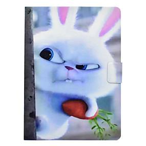 olcso Galaxy Tab 3 10.1 tokok-Case Kompatibilitás Samsung Galaxy Tab 3 10.1 Kártyatartó / Ütésálló / Állvánnyal Héjtok Állat Kemény PU bőr
