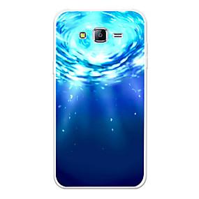voordelige Galaxy J7 Hoesjes / covers-hoesje Voor Samsung Galaxy J7 (2017) / J7 (2016) / J7 Patroon Achterkant Landschap / Cartoon Zacht TPU