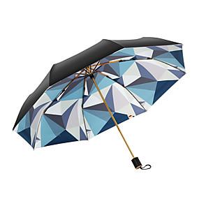 Недорогие Защита от дождя-boy® Все Солнечный и дождливой / Ветроустойчивый / Новый дизайн Складные зонты