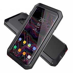 voordelige Galaxy S6 Edge Plus Hoesjes / covers-hoesje Voor Samsung Galaxy S9 / S9 Plus / S8 Plus Schokbestendig / Waterbestendig / Schild Volledig hoesje Schild Hard Metaal