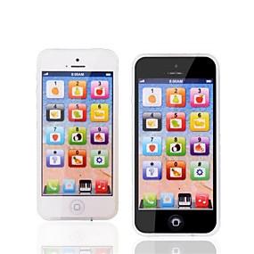 hesapli Klasik Oyuncaklar-Oyuncak Telefonlar Eğitici Oyuncak Y-telefon Şarj Edilebilir LED Işık Simülasyon Ebeveyn-Çocuk Etkileşimi Müzik ve Işık ile Ekran Çocuklar için Çocukların Günü Genç Erkek Genç Kız 1 pcs Oyuncaklar