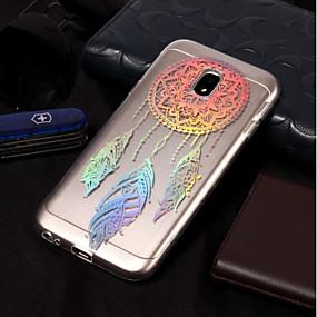 voordelige Galaxy J3 Hoesjes / covers-hoesje Voor Samsung Galaxy J7 (2017) / J7 (2016) / J7 Beplating / Patroon Achterkant Dromenvanger Zacht TPU