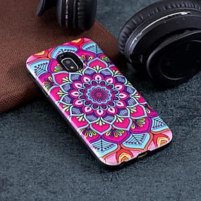 voordelige Galaxy J3 Hoesjes / covers-hoesje Voor Samsung Galaxy J7 (2017) / J5 (2017) / J3 (2017) Patroon Achterkant Mandala Hard PC