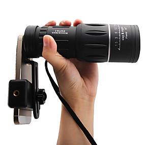 olcso Távcsövek-8 X 40 mm Félszemű Hordozható Night vision BAK4 Vadászat Halászat Kempingezés / Túrázás / Barlangászat ABS + PC / Igen