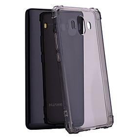 Недорогие Чехлы и кейсы для Huawei Mate-Кейс для Назначение Huawei Mate 10 / Y9 (2018)(Enjoy 8 Plus) Защита от удара / Полупрозрачный Кейс на заднюю панель Однотонный Мягкий ТПУ