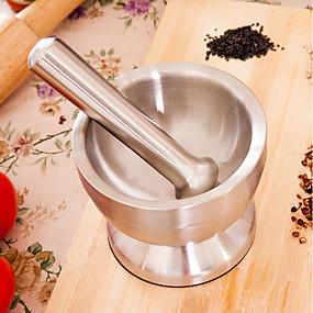 رخيصةأون أدوات & أجهزة المطبخ-الفولاذ المقاوم للصدأ طاحونة ثبات المطبخ الإبداعية أداة صحافة أدوات أدوات المطبخ لأواني الطبخ ثوم 1PC