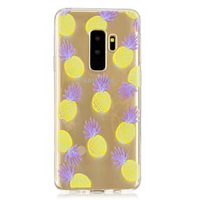 voordelige Galaxy S7 Edge Hoesjes / covers-hoesje Voor Samsung Galaxy S9 / S9 Plus / S8 Plus Transparant / Patroon Achterkant Fruit Zacht TPU