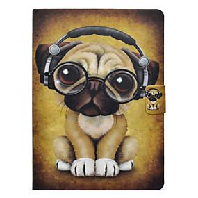 voordelige Galaxy Tab 3 10.1 Hoesjes / covers-hoesje Voor Samsung Galaxy Tab 3 10.1 Kaarthouder / Schokbestendig / met standaard Volledig hoesje Hond Hard PU-nahka
