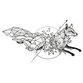 رخيصةأون وشم مؤقت-5 pcs ملصقات الوشم الوشم المؤقت سلسلة الحيوانات الفنون الجسم معصم